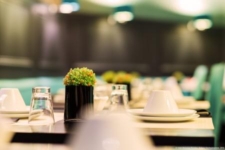 Salle de petit-déjeuner - Hôtel Monceau Elysées