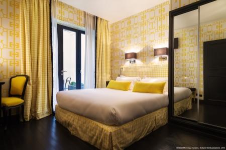 Chambre supérieure - Hôtel Monceau Elysées