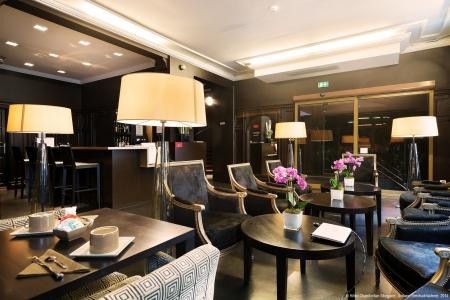 Lobby - Hôtel Chambellan Morgane