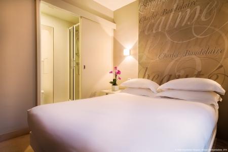 Chambre standard - Hôtel Chambellan Morgane