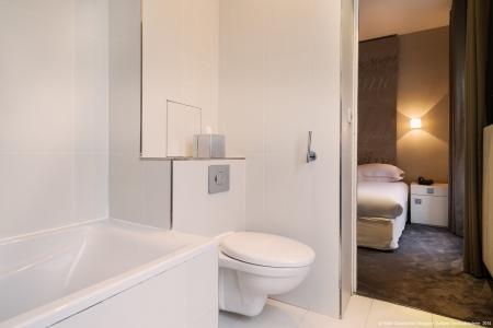 Salle de bain chambre supérieure - Hôtel Chambellan Morgane