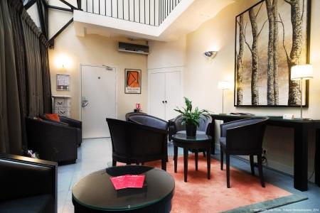 Lobby - Hôtel Centre-Ville Etoile