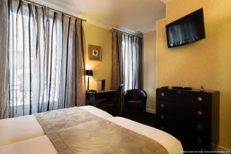 Chambre twin - Hôtel Centre-Ville Etoile