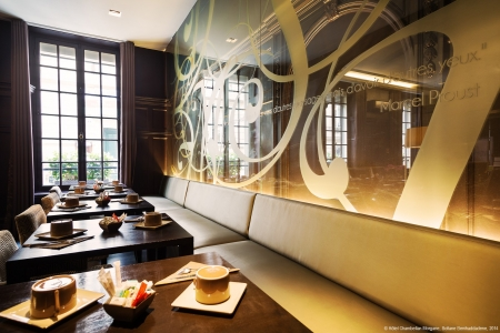 Salle de petit-déjeuner - Hôtel Chambellan Morgane