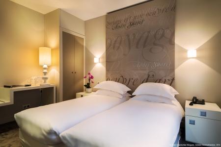 Chambre twin - Hôtel Chambellan Morgane